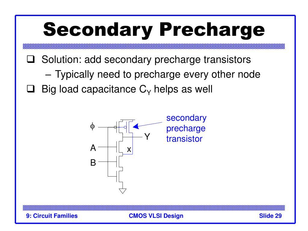 Secondary Precharge