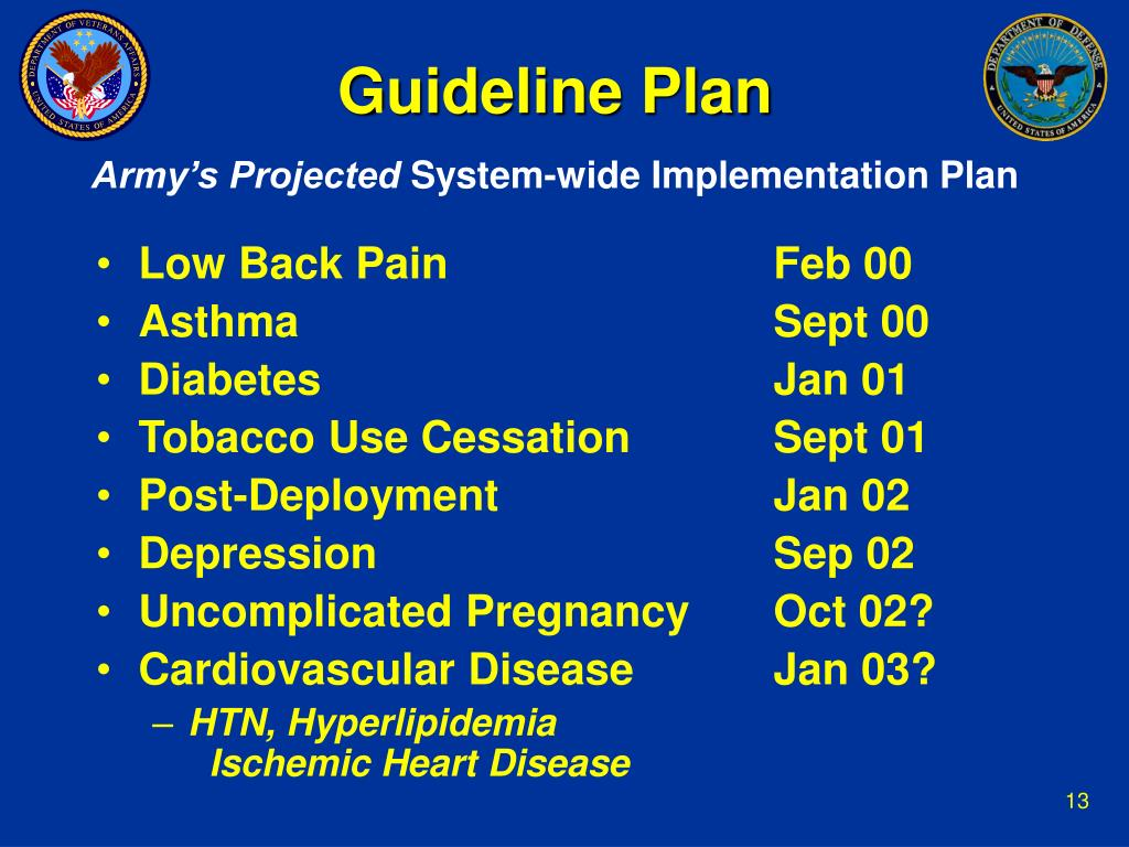 Guideline Plan