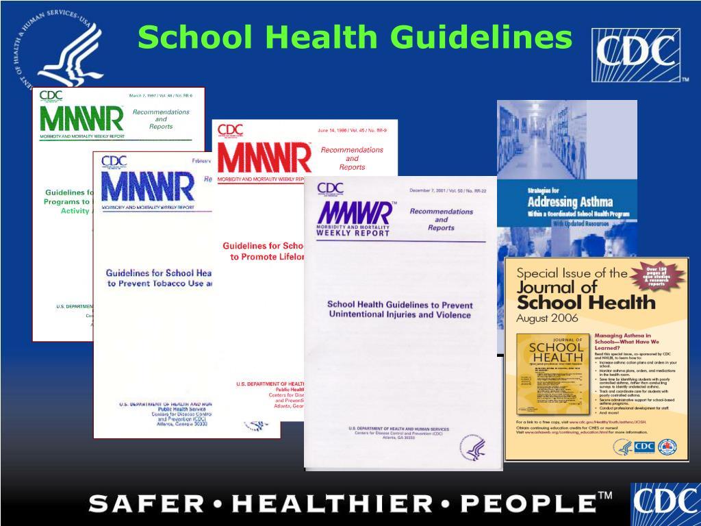 School Health Guidelines