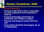 dietary guidelines 20008