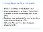 nursing personal care assistants6