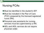 nursing pcas20