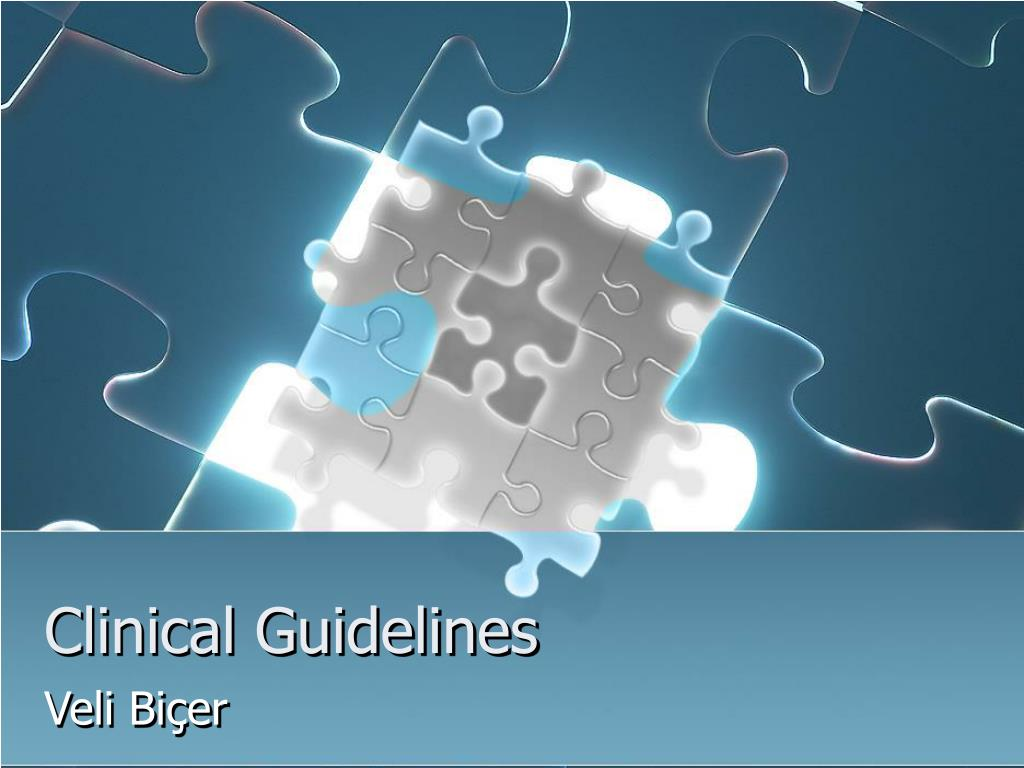 clinical guidelines l.