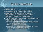 guide newguide