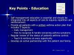 key points education