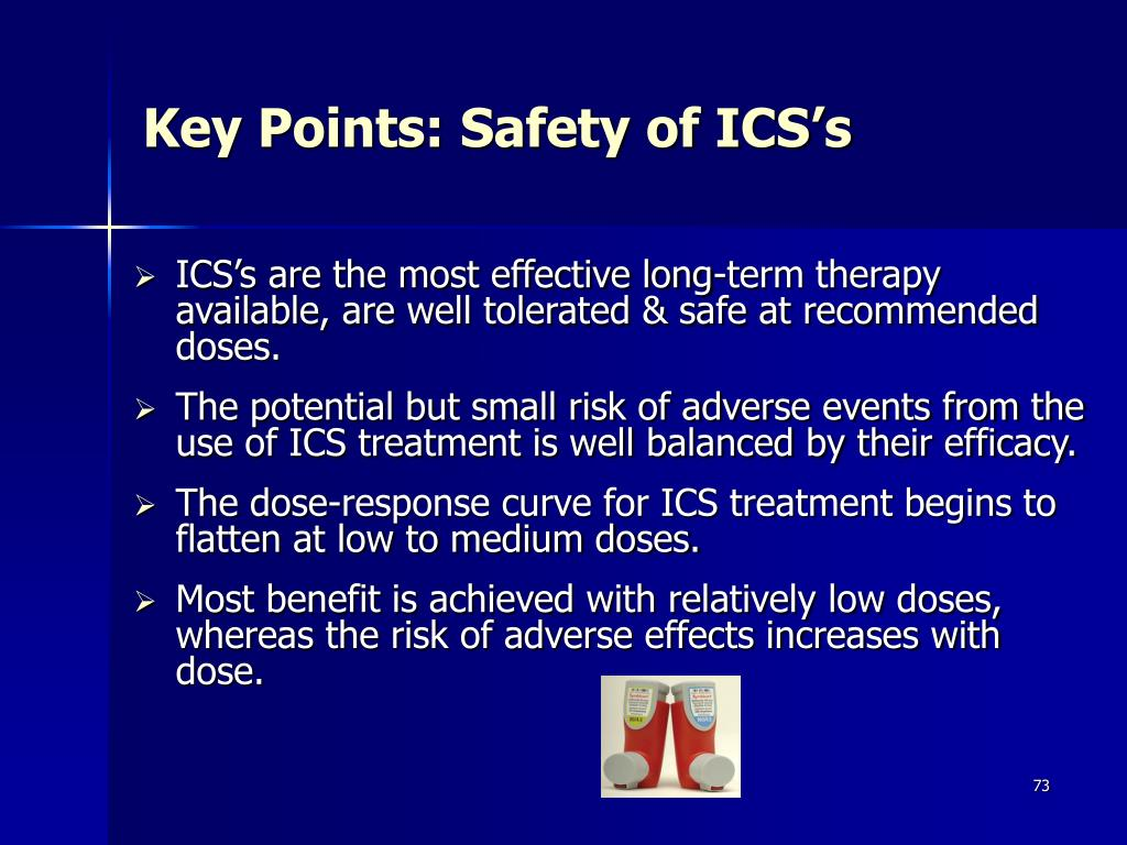 Key Points: Safety of ICS's