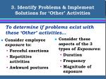 3 identify problems implement solutions for other activities16