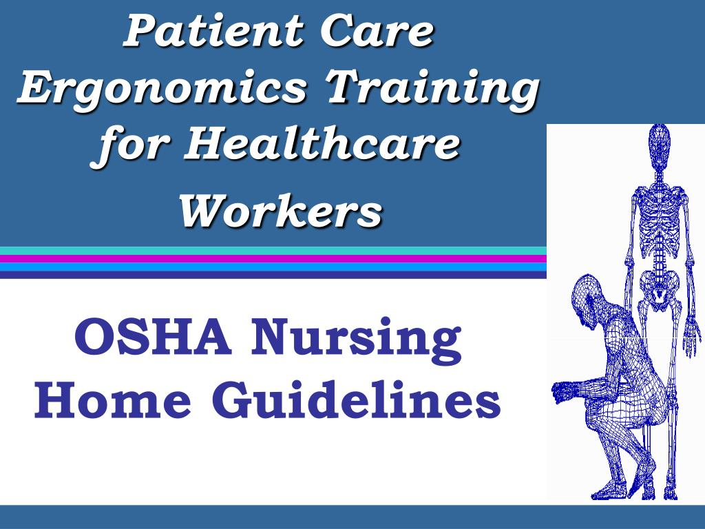 patient care ergonomics training for healthcare workers l.