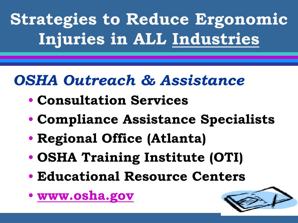 Strategies to Reduce Ergonomic Injuries in ALL