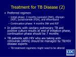 treatment for tb disease 2