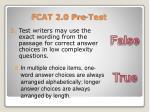 fcat 2 0 pre test36