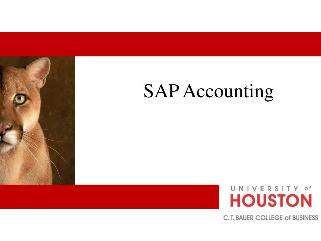 SAP Accounting