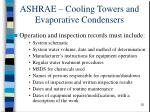 ashrae cooling towers and evaporative condensers32