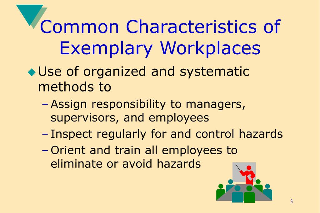 Common Characteristics of Exemplary Workplaces