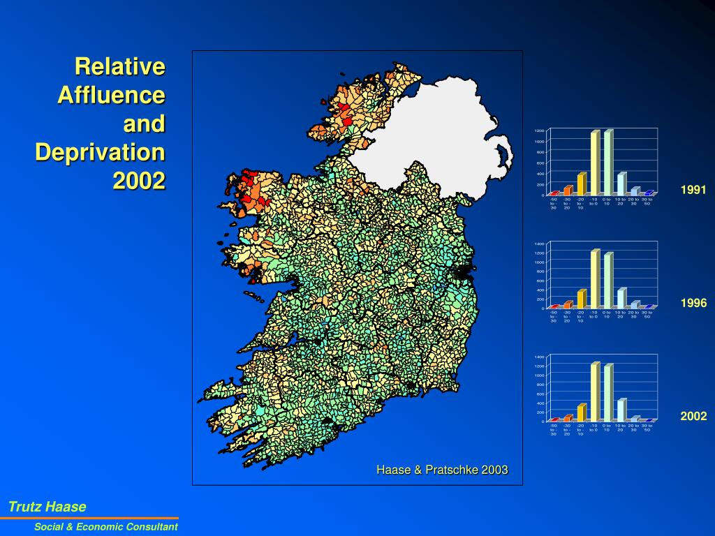 Relative Affluence and Deprivation 2002
