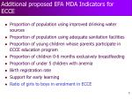 additional proposed efa mda indicators for ecce5