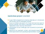 amsterdam project overview