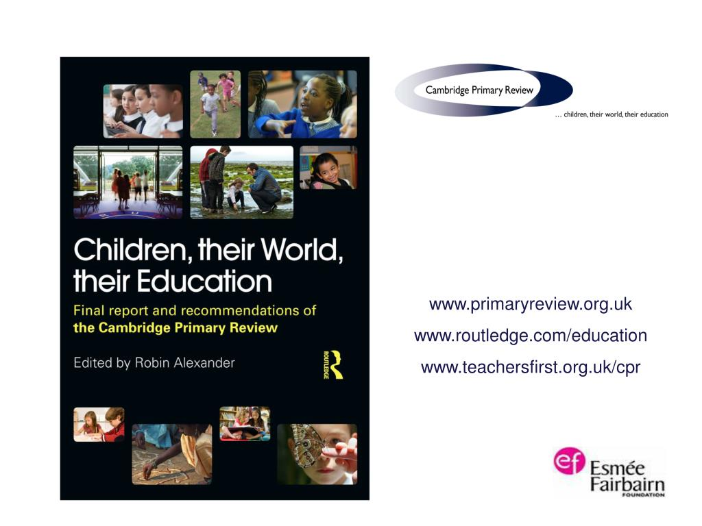 www.primaryreview.org.uk