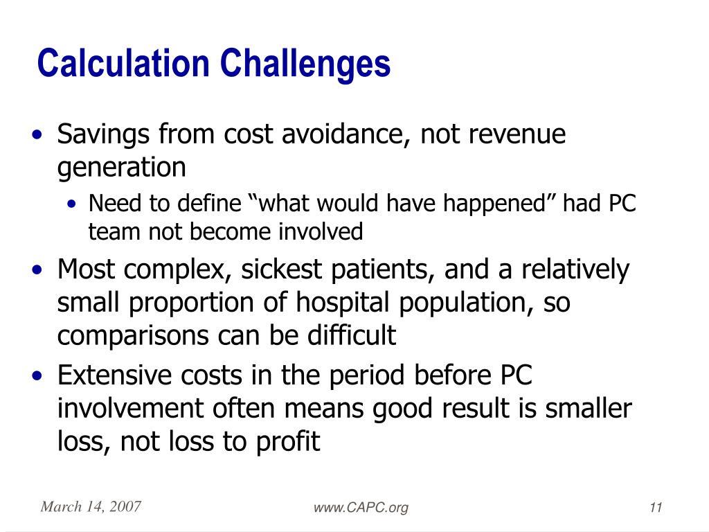 Calculation Challenges