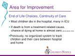 area for improvement11