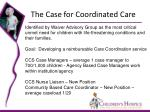 the case for coordinated care