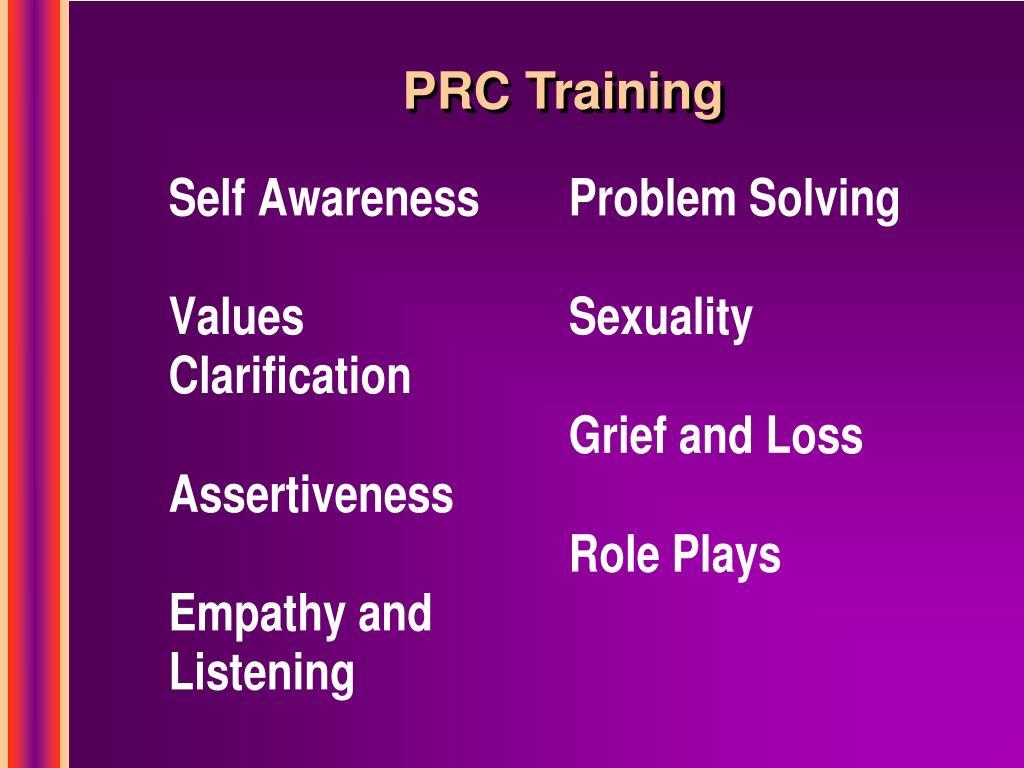 PRC Training