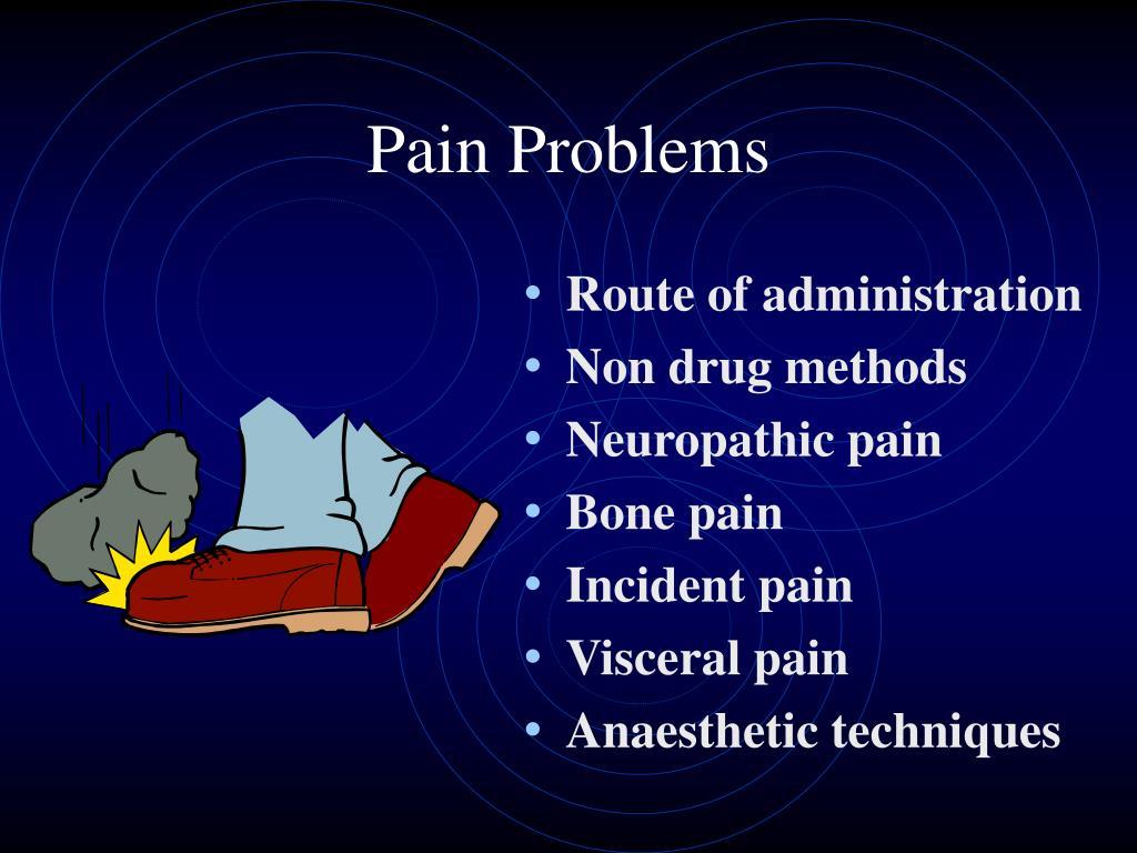 Pain Problems