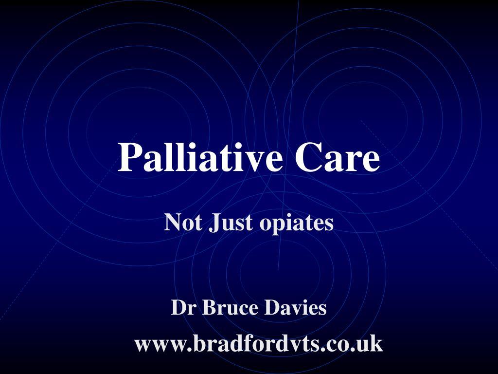 palliative care l.