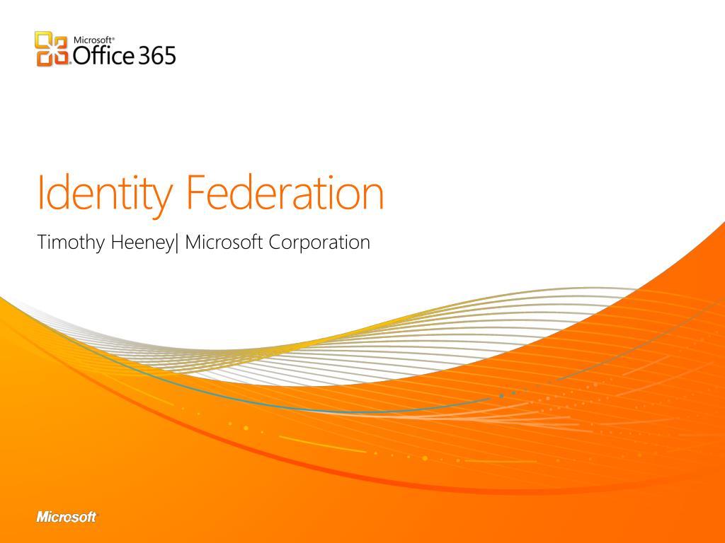 Identity Federation
