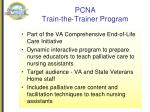 pcna train the trainer program