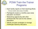pcna train the trainer programs