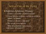 active care of the dying35