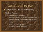 active care of the dying41