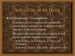 active care of the dying44