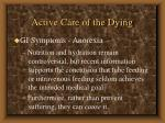 active care of the dying48