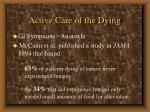 active care of the dying49