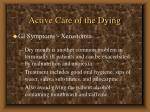 active care of the dying54