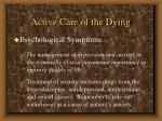 active care of the dying60