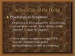 active care of the dying61