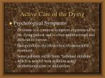active care of the dying62