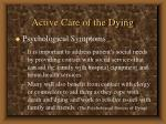 active care of the dying63