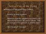 active care of the dying66