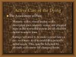 active care of the dying70