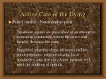 active care of the dying77