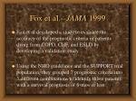 fox et al jama 1999