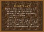 palliative care83