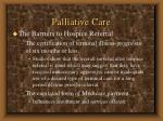 palliative care86