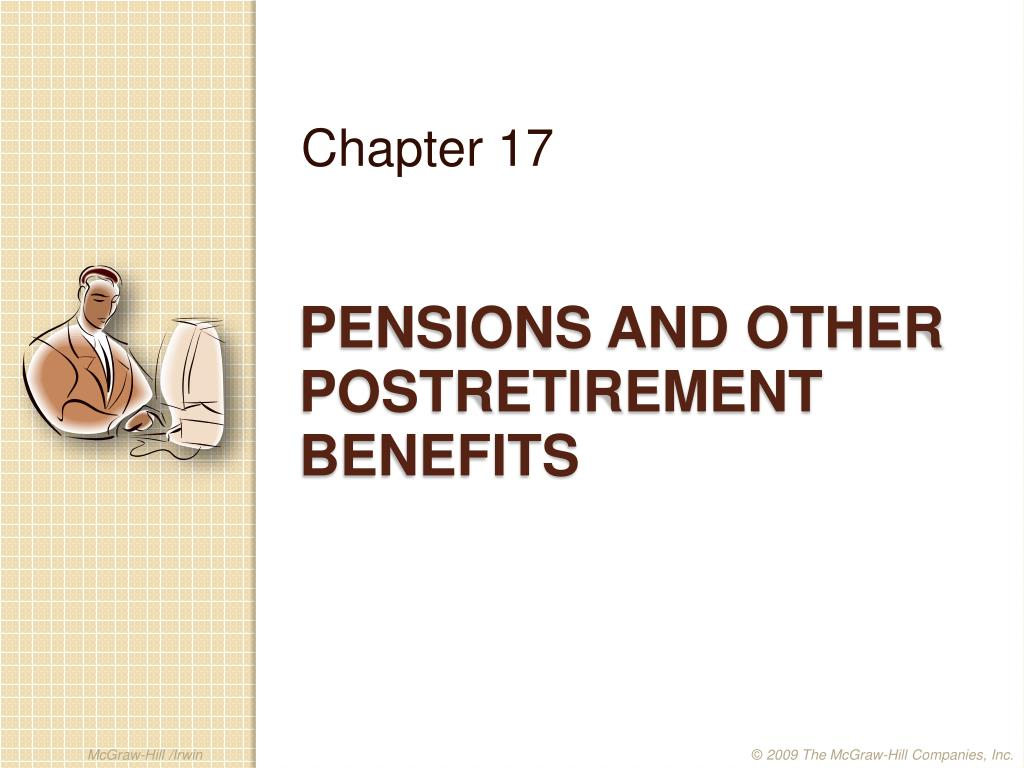 pensions and other postretirement benefits l.