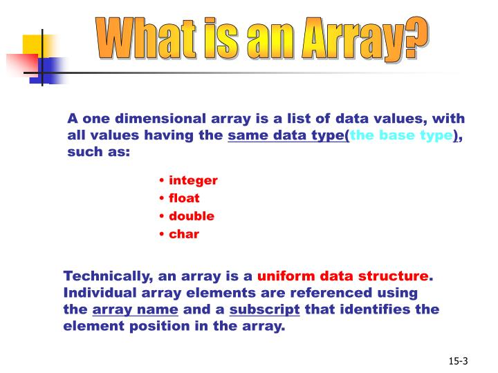 What is an Array?