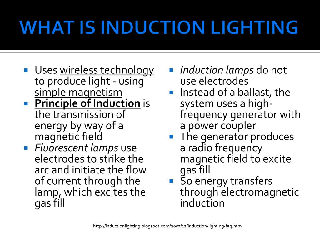 Ppt Induction Lighting Powerpoint Presentation Id662910  sc 1 st  Democraciaejustica & What Is Induction Lighting - Democraciaejustica